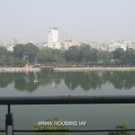 Ba Dinh lake view serviced apartment
