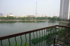 Lake view serviced apartment
