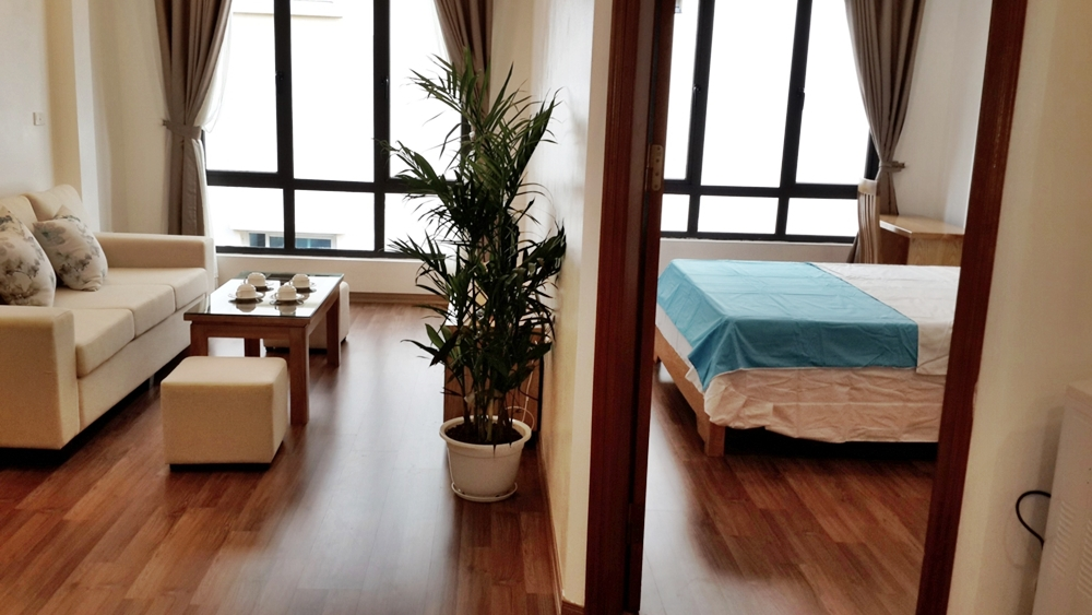 Serviced Apartment in Hoang Quoc Viet str, Cau Giay
