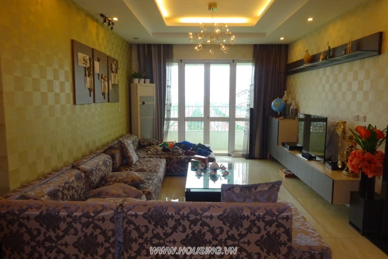 Apartment for Rent in Ciputra Hanoi with 03 bedrooms