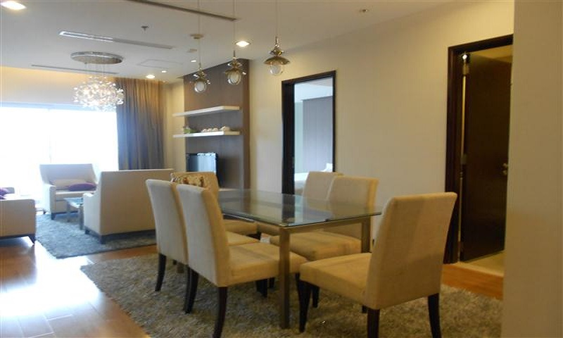 Hoa Binh Green Apartment for Rent with 03 Bedrooms
