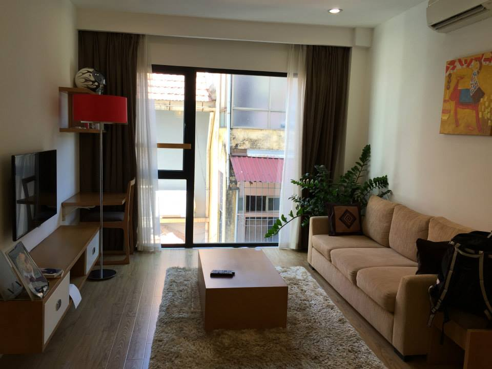 Dao Tan Serviced Apartment for rent on 5th Floor