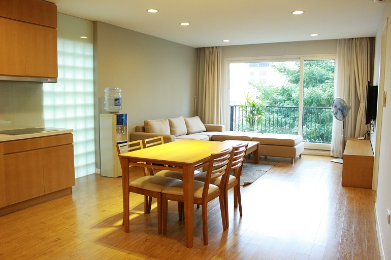 Serviced apartment in To Ngoc Van for rent