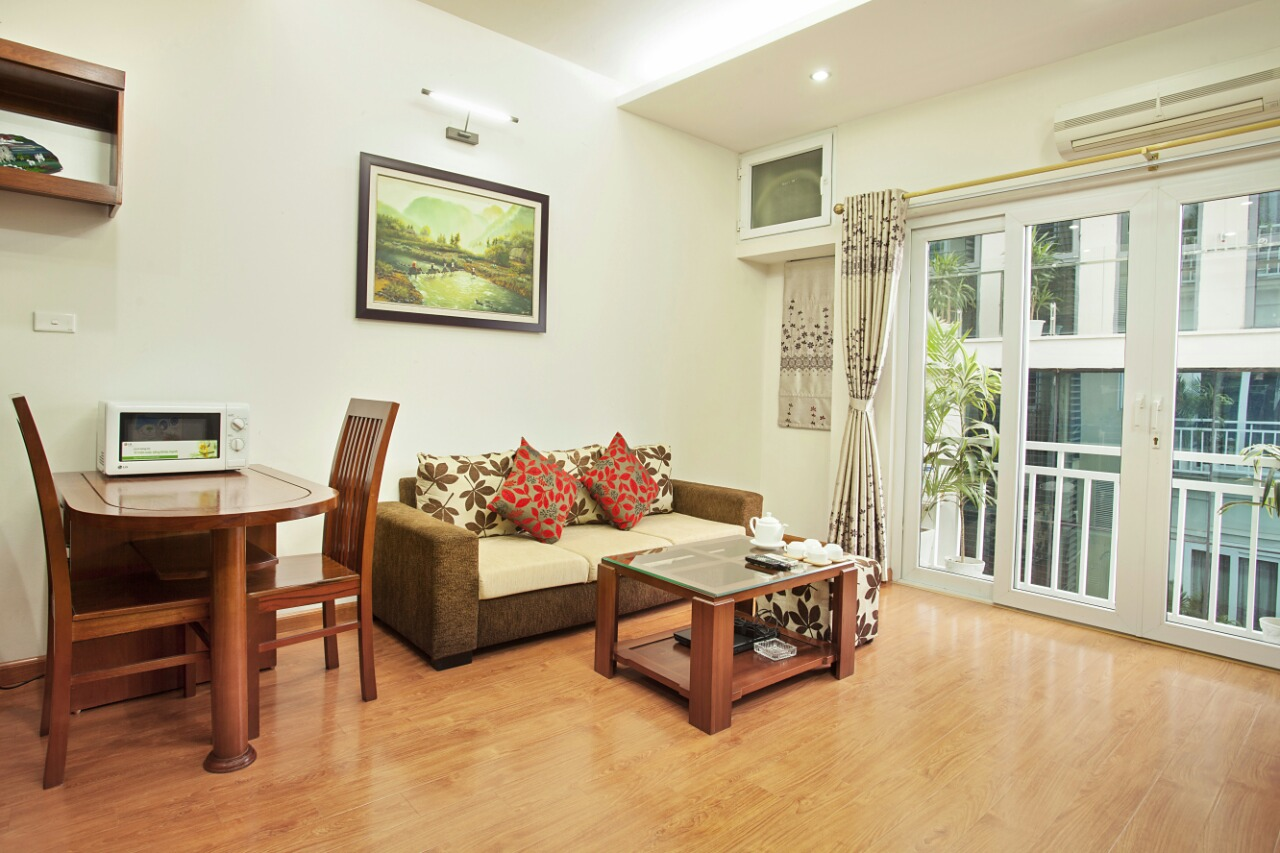 Apartment in Lieu Giai str, Ba Dinh, Hanoi
