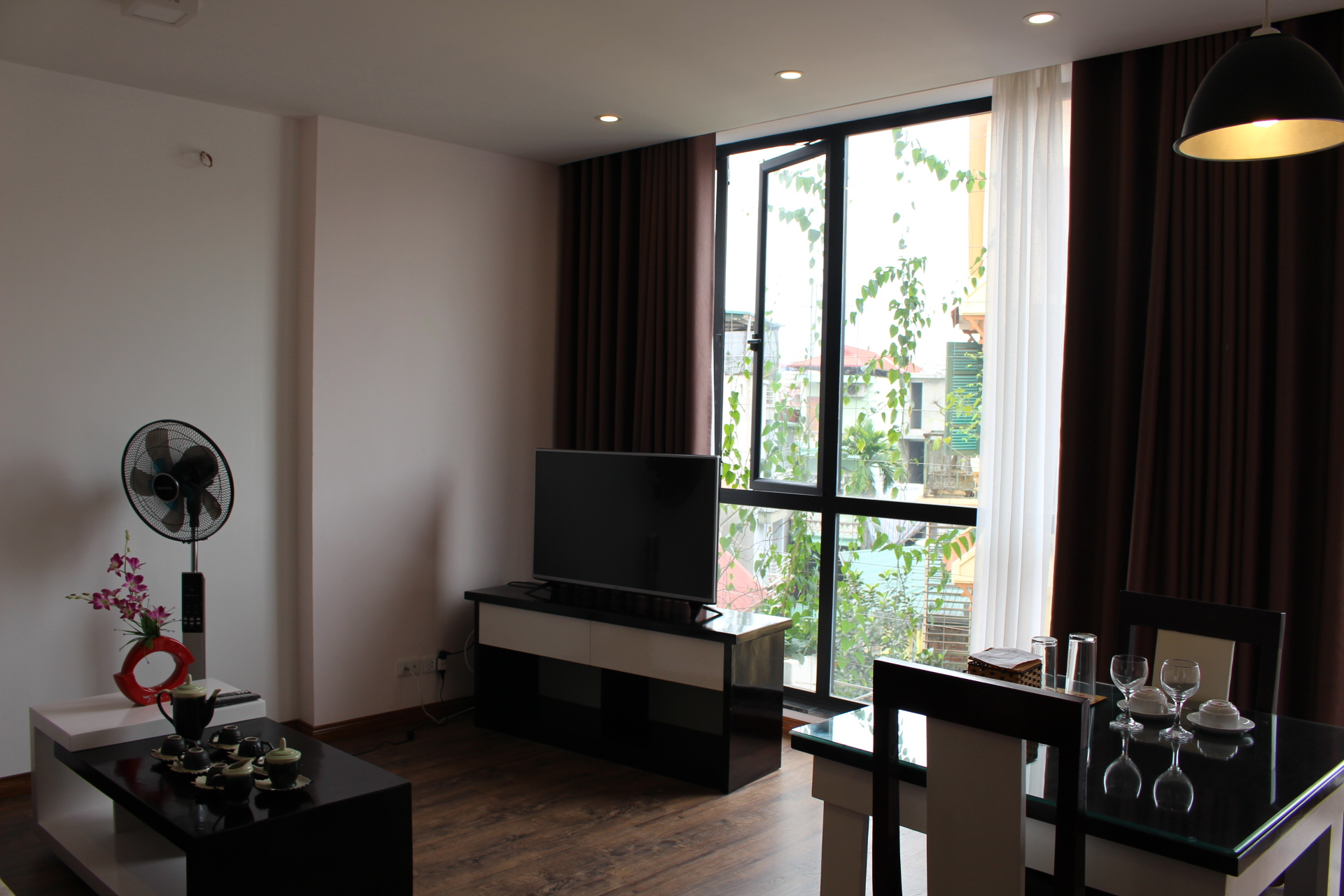 New Serviced Apartment in Dao Tan,Ba Dinh for Rent