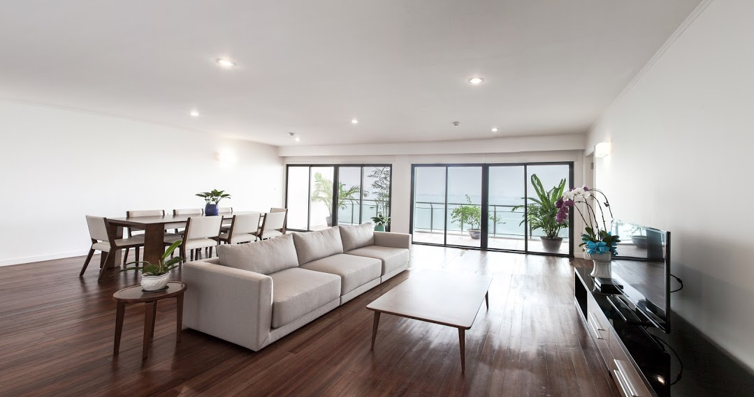 Three Bedroom Serviced Apartment in Hanoi Lake View