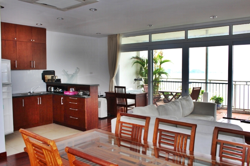 Spacious Serviced Apartment in Xom Chua Tay Ho district