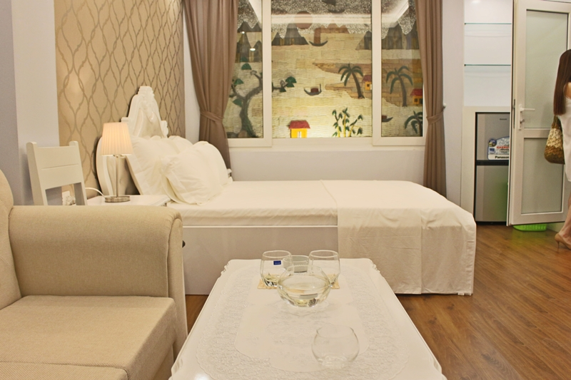 Lovely Studio Apartment Trung Kinh for rent.