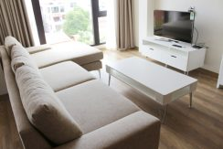 serviced apartment To Ngoc Van street