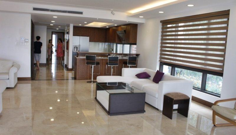 Xuan Dieu地区のサービスアパート