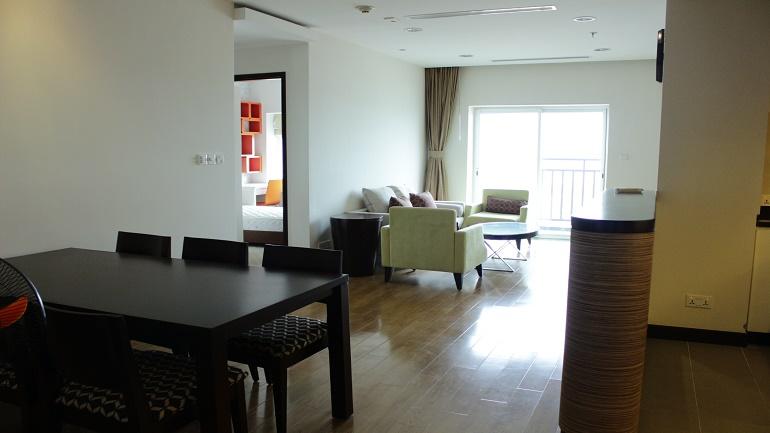 3 bebroom apartment in Hoa Binh Green for rent