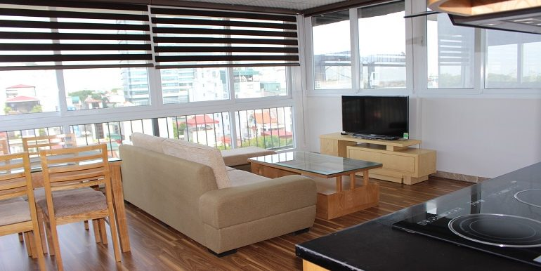 high-floor apartment in Ba Dinh