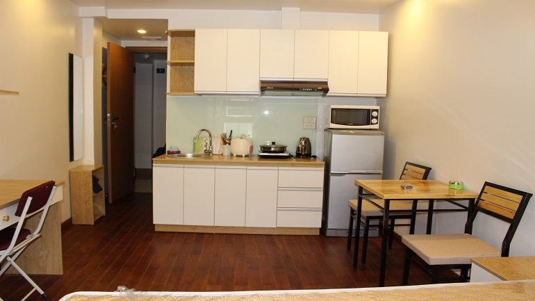 Serviced apartment in Ham Long Hoan Kiem