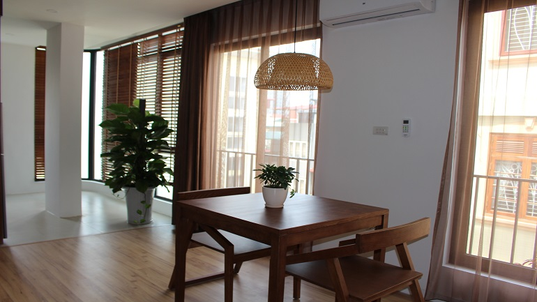 Brand new serviced apartment in Van Cao Ba Dinh