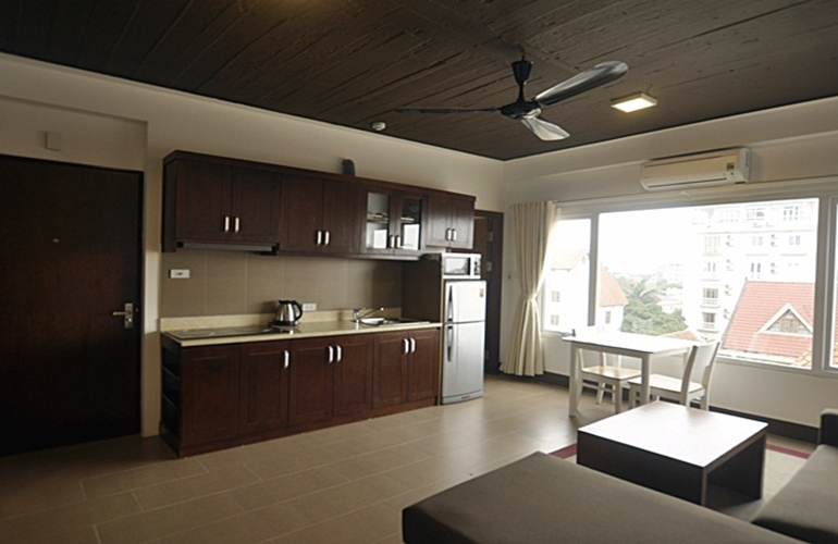 Service apartment in Tay Ho for rent one bedroom