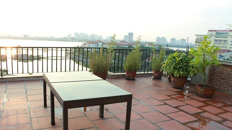 Duplex Apartment Hanoi views West lake