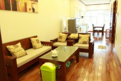Lake view serviced apartment in Truc Bach