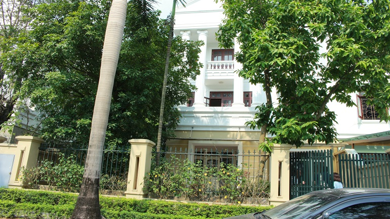 Large Villa Ciputra with 05 bedrooms for rent