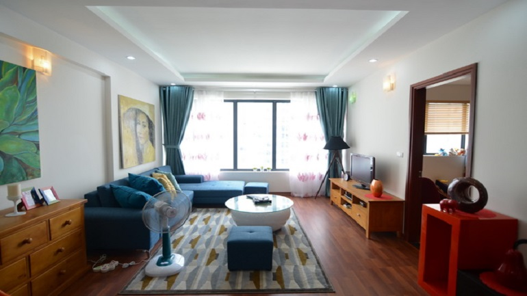 Brand new Apartments Cau Giay for rent in Green stars residences