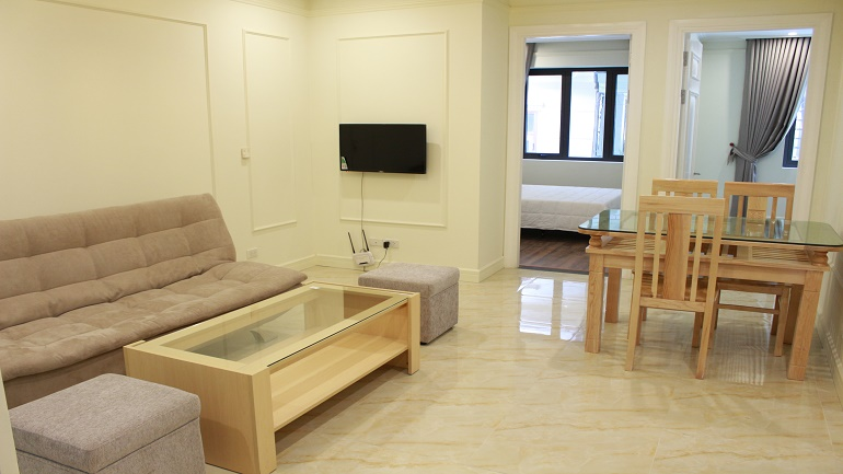 Brand new serviced apartment in Ba Dinh