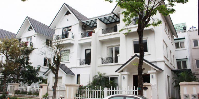 semi-detached villa vinhomes riverside hanoi