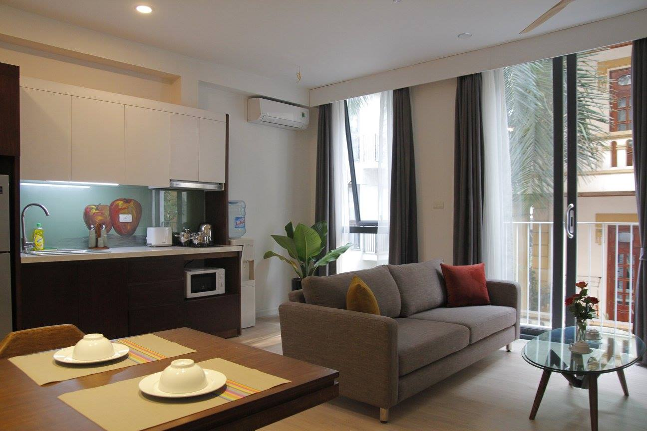 Kim Ma apartment with good services for rent