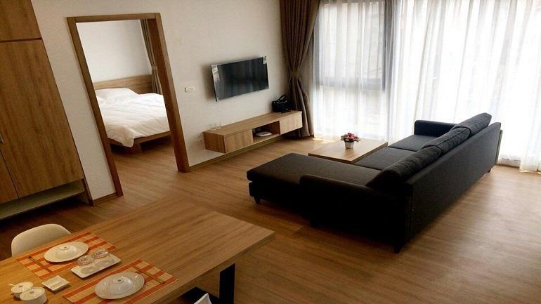 Brand new Apartment near Somerset Hoa Binh for rent