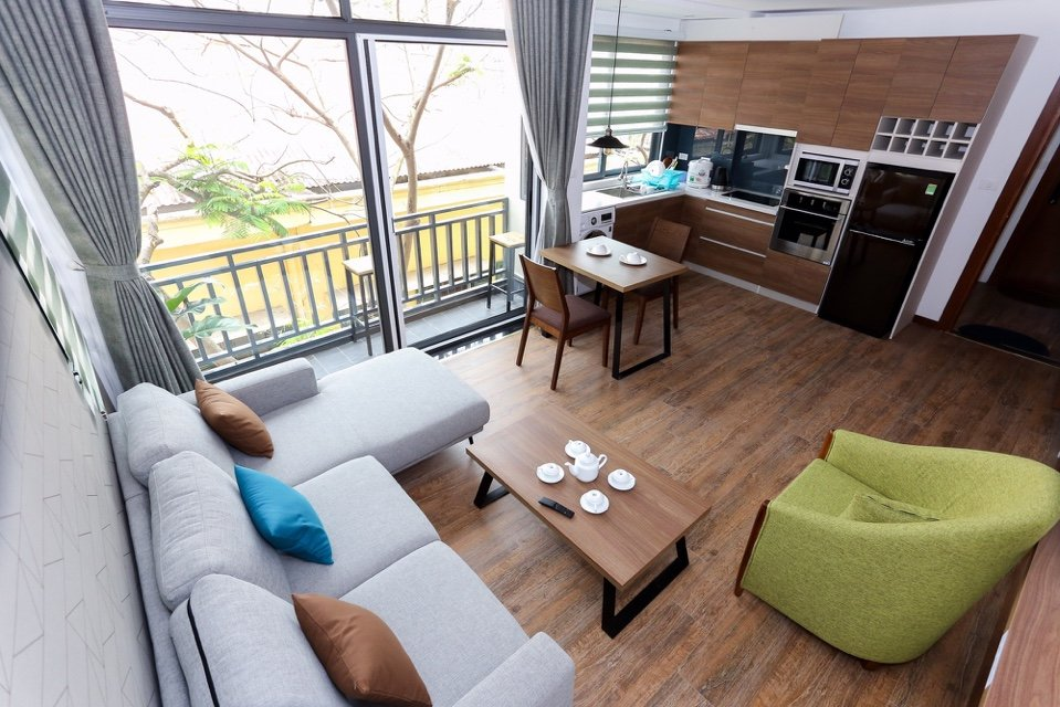New serviced apartment Tay Ho West lake