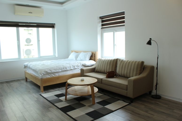 New studio apartment in new building in Ho Tay lake