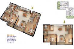 Bán căn hộ chung cư Goldmark City tòa Ruby 4