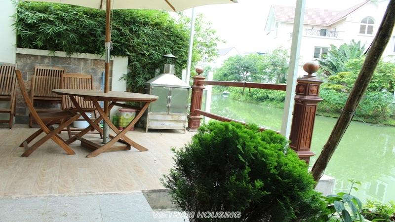 furnished villa vinhomes riverside