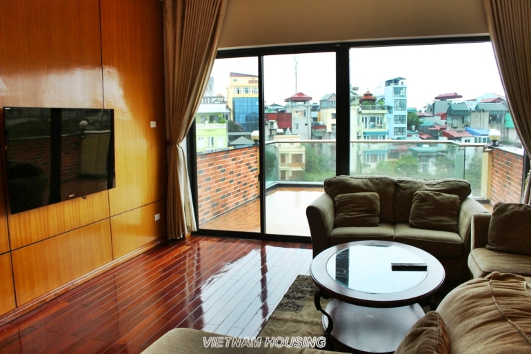 impressive apartment in West lake  with spacious balcony
