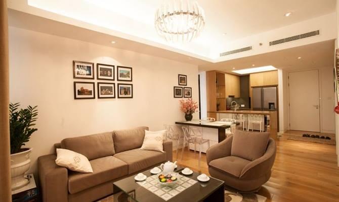 Cho thuê căn hộ Indochina Plaza, 239 Xuân Thủy, 2 phòng ngủ