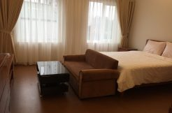 Van Cao serviced apartment has fully furnished with modern style furniture