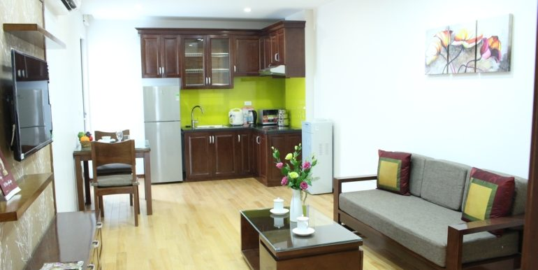 Serviced aparment in Ba Dinh district with safe and convenience