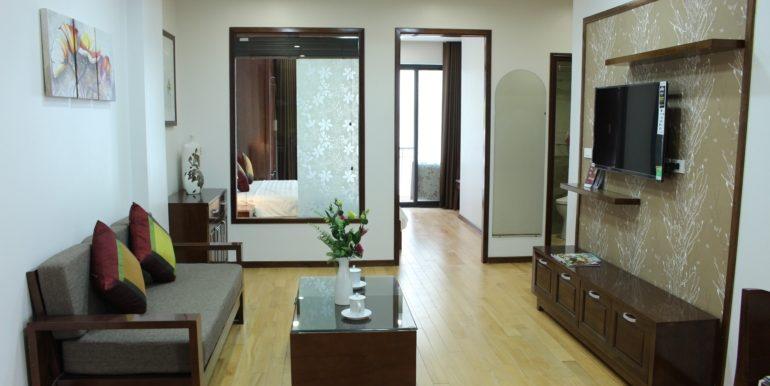 Căn hộ dịch vụ 1 phòng ngủ gần Lotte Center