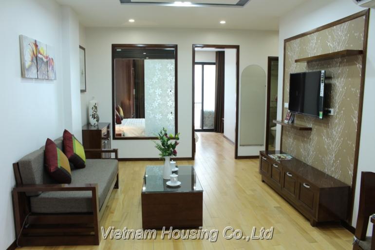 Cho thuê căn hộ dịch vụ 1 phòng ngủ gần Lotte Center