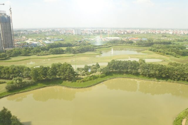 Nice  apartment with spacious view in Ciputra Hanoi