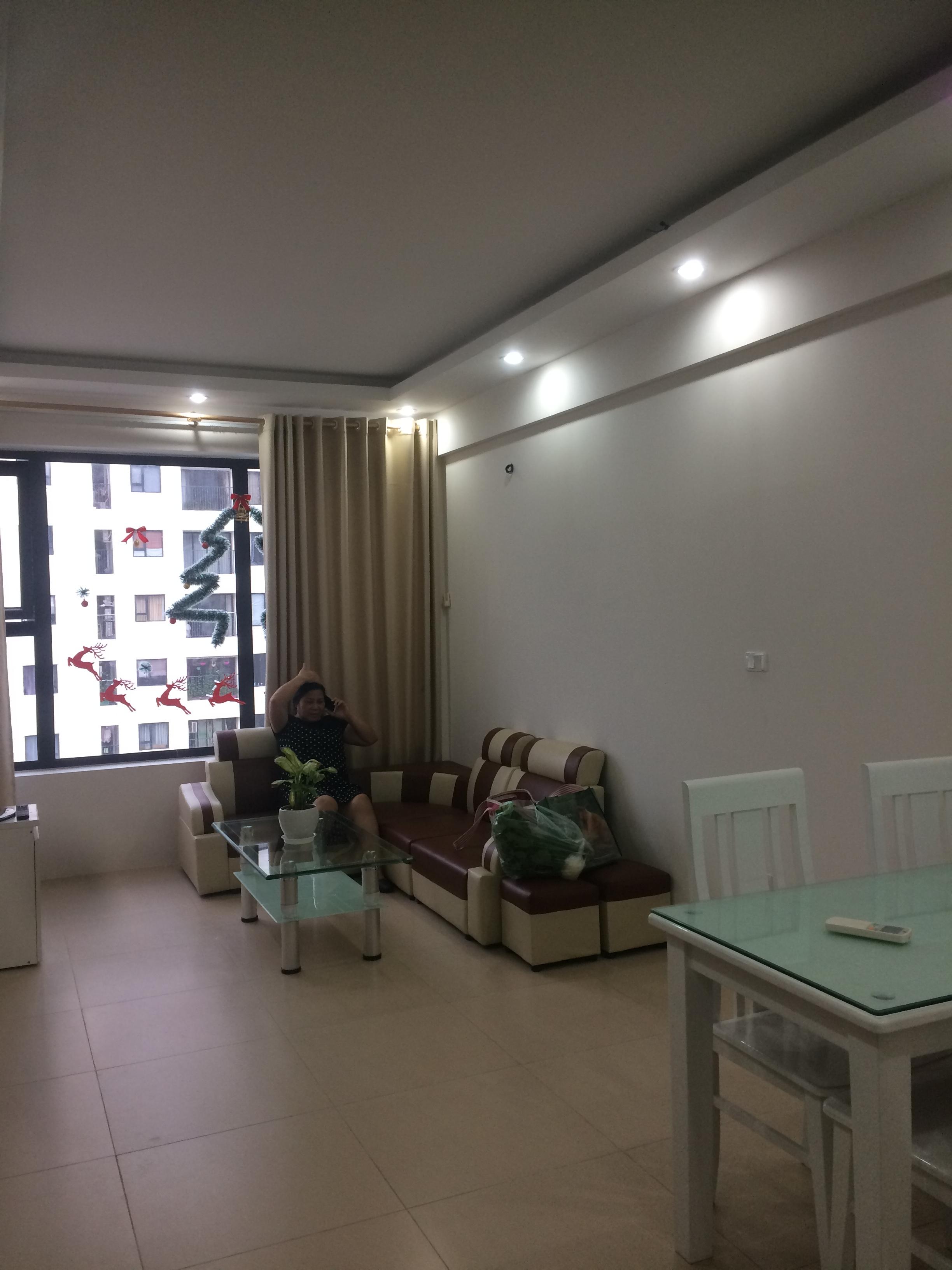 Cho thuê căn hộ chung cư Green Star, 2 phòng ngủ