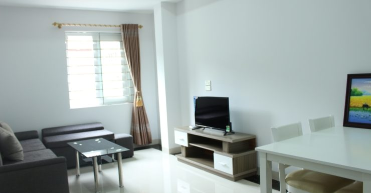 Budget serviced apartment