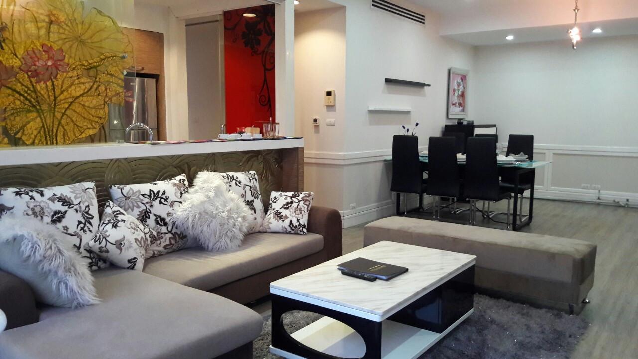 Cho thuê căn hộ chung cư Golden Westlake, 2PN, view hồ