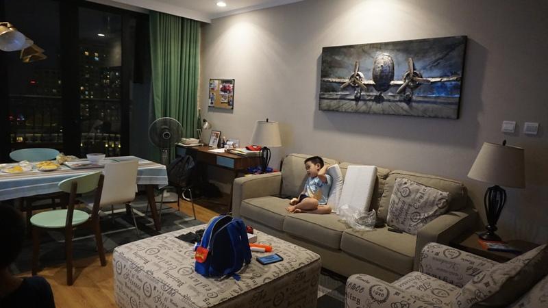 Cho thuê căn hộ chung cư Royal City, 3 ngủ, full đồ