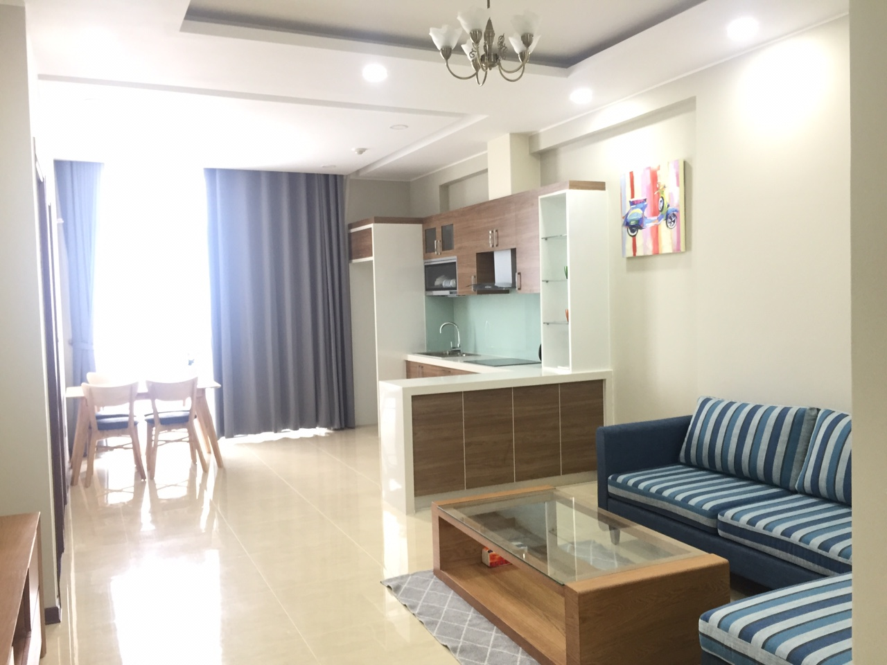 Fully furnished apartment in Trang An Complex