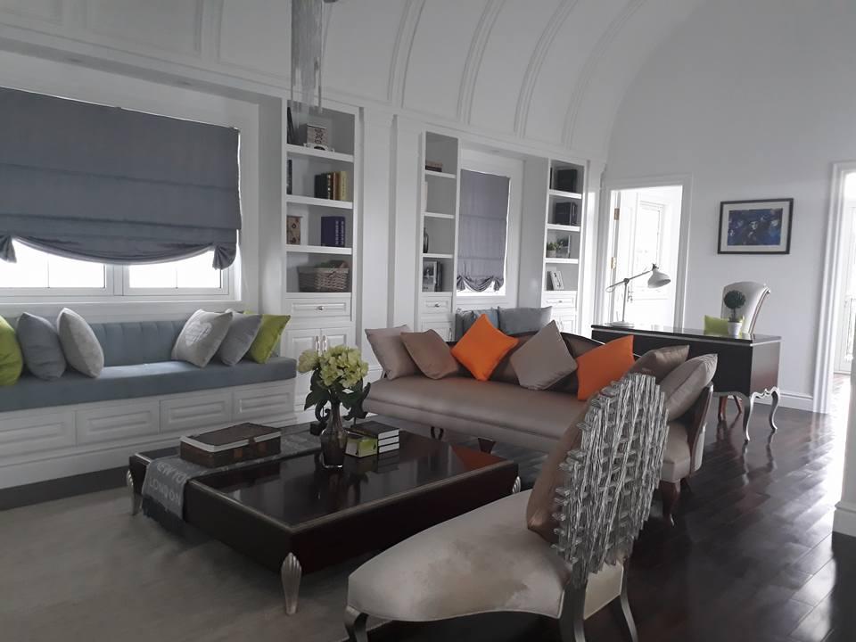 Cho thuê biệt thự tại Vinhomes Riverside, 3 phòng ngủ