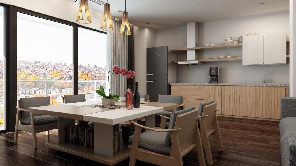 Cho thuê căn hộ tại chung cư Imperia Garden, 3 phòng ngủ