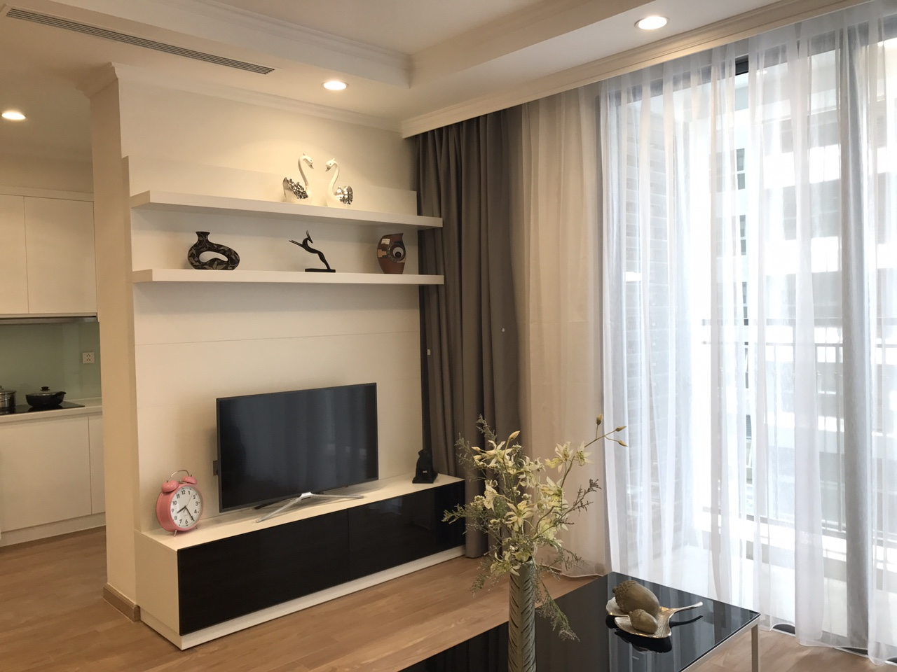 One-bedroom apartment with fully furnished in Park  Hill-Time City