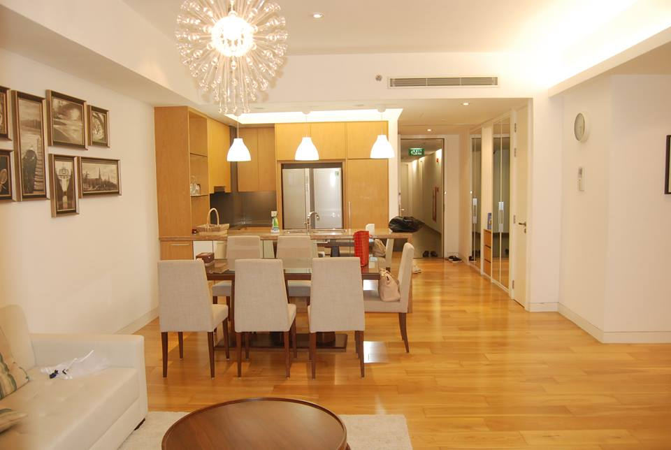Indochina apartment 3 bedrooms Cau Giay district for rent