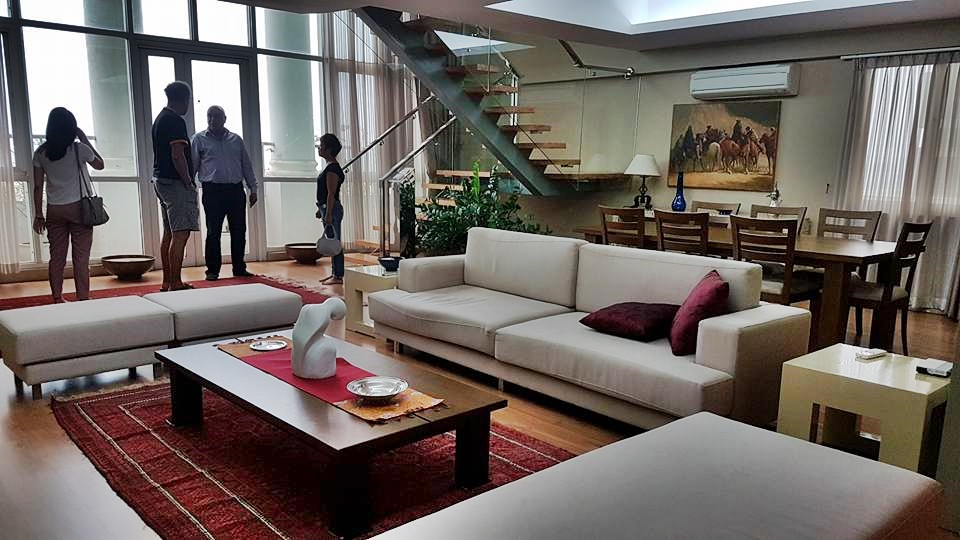 Unique design penthouse apartment Ciputra Hanoi