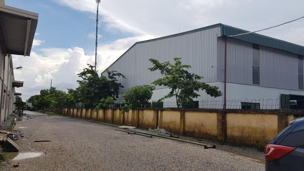 Cho thuê kho xưởng mới tại Thuận Thành Bắc Ninh