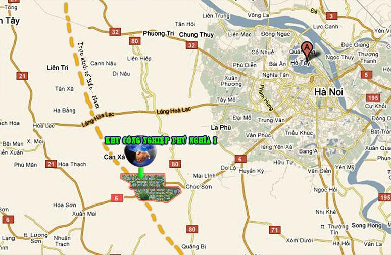 Cho thuê nhà xưởng kcn Phú Nghĩa Hà Nội